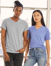 Unisex Triblend V-Neck T-Shirt
