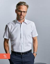 Men`s Short Sleeve Tailored Ultimate Non-Iron Shirt